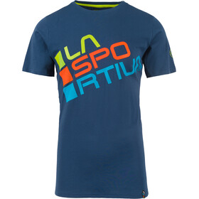 La Sportiva Square Shortsleeve Shirt Men blue